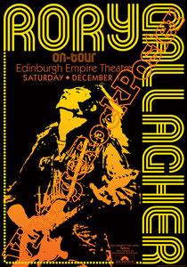 Rory Gallagher,Rory Gallagher poster, guitar,guitarist,taste,bullfrog blues,chitarra,chitarrista,irlanda,eire,shadow play,classic rock,rock music,irish music,edinburgh