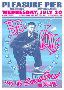 bb king,b.b.king, b b king,soul, music, concert, bb king concert, bb king poster, poster, vintage rock poster, manifesto, live show, affiche, karte, bb king konzert