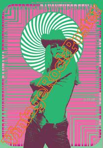 carlos santana, santana poster,santana concert,bob dylan,milano, stadio s siro,concerto,hurricane,samba pa ti,maria maria,vintage rock posters