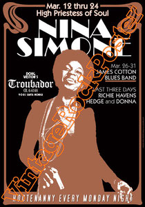 nina simone,black music, woman singer,troubador,blues,jazz,1968,sinnerman,feeling good,i put a spell on you,little girl blue