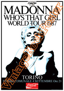 madonna,like a virgin,borderline,run dmc,beastie boys,madonna poster,pop music,madonna affiche, paninaro,preppy,80s,vintage,holydays,whos that girl,1985