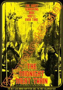 the midnight meat train, Ryuhei Kitamura, movie, horror, thriller,splatter movie, cinema, horror movie,cannibal, zombie, japan horror