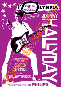 johnny halliday poster,johnny hallyday,france music,chanteur,l'envie,20 ans,affiche, poster,manifesto,paris,1961