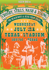 crosby still nash and young,Neil Young, Graham Nash, Stephen Stills, David Crosby, Joe Vitale,harvest moon,psychedelic, psychedelia, anni 60,poster, progressive rock, classic rock, american rock,biker
