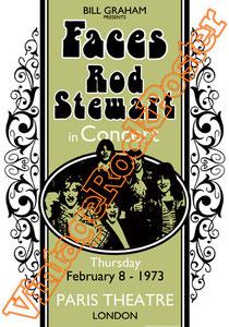 rod stewart,apollo,glasgow,1976,Ronnie Wood, Ian McLagan, Kenney Jones,mick hucknall,first step,rod stewart poster,concert,live show,manifesto,locandina