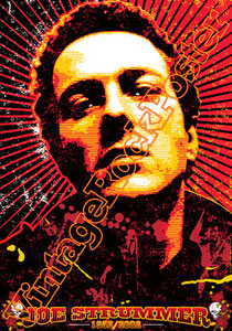joe strummer,clash,punk,emo,music,music icon,joe strummer poster,clash poster