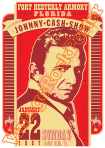 johnny cash,usa, american music, folk, country, guitar,poster, vintage rock posters