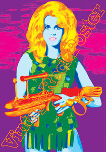 barbarella,roger vadim,jane fonda,duran duran,space,pop art,movie, pop movie, cinema, hollywood,pop film,cannes,