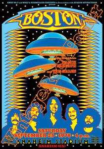 black sabbath, Ozzy Osbourne, Tony Iommi, Ronnie James Dio,poster,manifesto,affiche,concert,boston,Van Halen,Anaheim,1978