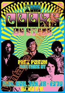 doors, Jim Morrison, Ray Manzarek, Robby Krieger, John Densmore, Rick Manzarek, Jim Manzarek, Pat Sullivan,psychedelic,psichedelia,gloria,doors poster,king snake,felt forum,new york city