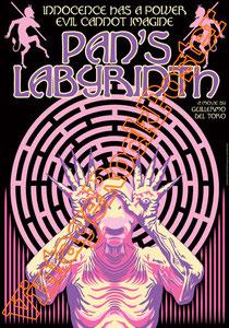 pan's labyrinth,Il labirinto del fauno,el laberinto del fauno,guillermo del toro,poster, manifesto, locandina,movie poster, film,