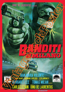 banditi a milano, carlo lizzani, italian cult movie, cult movie, cinema, cinecittà, italian b movie, b movie, cult, hollywood, cinema poster, movie poster