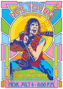 crosby still nash and young,Neil Young, Graham Nash, Stephen Stills, David Crosby, Joe Vitale,harvest moon,psychedelic, psychedelia, anni 60,poster, progressive rock, classic rock, american rock,biker