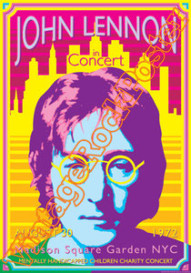 john lennon, pace,new york,madison square garden, yoko ono,beatles,war is over, imagine,john lennon poster,vintage rock posters,vietnam,jealous guy,john & yoko,hippy,60s,1980,