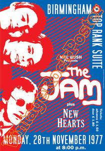jam,mod,Paul Weller, Bruce Foxton, Rick Buckler, Natascha Wright, Steve Brookes, Axel Breitung,new hearts,english,british pop,british rock,indie,indipendent,modern groove,going underground,jam poster