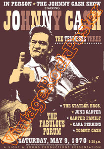 johnny cash,usa, american music, folk, country, guitar,poster, vintage rock posters,inglewood