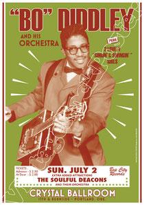 bo diddley, poster, manifesto, vintage rock poster, affiche, bo diddley poster, jazz, blues,soul, musique, cartaz, karte , cartel, concerto, live show, bo diddley concert, 1967