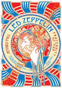 jethro tull,Ian Anderson, Martin Barre, Anna Phoebe, David Goodier,jethro tull poster,affiche,concerto,concert,live show,classic rock,vintage rock posters,led zeppelin,robert plant,jimmy page,fraterni