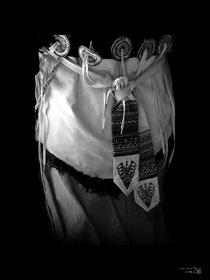 Dos de costume de femme Naxi