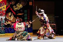 Iwami-kagura, Nishimura-shachu