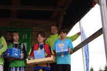 Lucas MAGIMEL sur le podium : 2 titres : Vice champion de France de Longue distance et de nuit