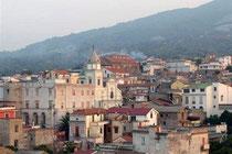 Veduta del Borgo da valle