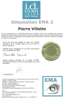 Pierre Villette, Praticien EMA (Eye movement Actualization), IMO / EMDR, Coach de vie certifié, Maître Praticien PNL, Maitre Enseignant Reiki, Praticien Chi Nei Tsang