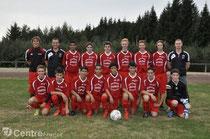 Photo dans l'équipe de Foot de l'Ajax d'Argentat.
