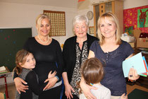 Lisa Hautzinger, Christel Hautzinger und Angelika Haunschmidt