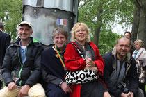 Horst Kaufmann, Ferry Neuländtner, Mimi Maier und Hannes Geiger