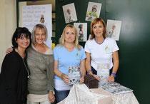 Karin Sampl, Angelika Haunschmidt, Doris Probst und Barbara Bernhauser (von rechts nach links)