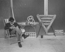 1988, Garage selling, Paris