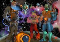 Die Future Crew Steampunked