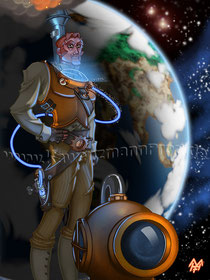Captain Future Steampunked