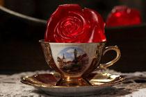 Blumen rote Rosen Rosenduft Gästeseife