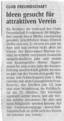 Rheinpfalzbericht 16.03.2011