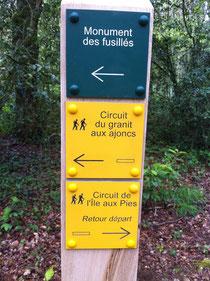 Circuit du Granit aux Ajoncs - Ile aux Pies (St Vincent sur Oust - 56)
