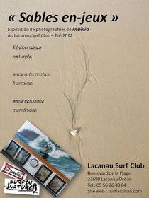 Exposition visible tout l'été 2012 à Lacanau (33)