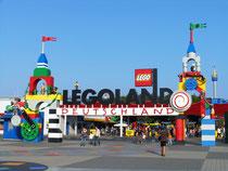 Eingang Legoland Deutschland