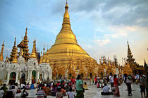 shwedagon pagode  Yangon