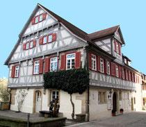 Ort der Ausstellung : Musikschule in Waldenbuch, ein historisches Fachwerkhaus, Jens Walko Kunst