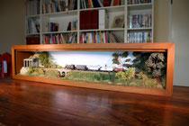 Vitrinen-Diorama in Spur N