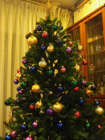 2011、我が家のX'masツリー