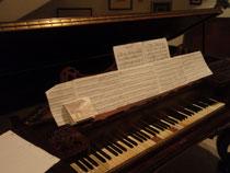 1800年中頃に作られたピアノフォルテ