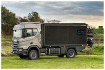 Allrad Expeditionsfahrzeug Zirbenbox Scania XT370