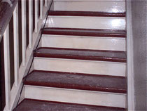 Treppenstufen (Ochsenblut) Tritt- und Setzstufe renovieren in Berlin