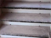 Treppe (Ochsenblut) Tritt- und Setzstufe schleifen