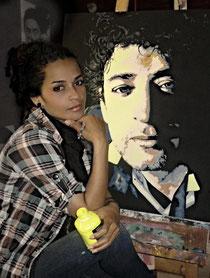 Artist Liliana Cervantes