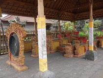 Schrein der Pande im Tempel