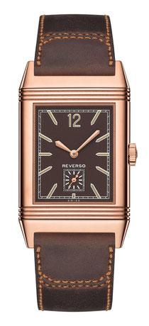 Die Uhr mit dem legendären Wendegehäuse wurde in den 1930er Jahren für die Polospieler erfunden, die das Glas ihrer Uhr vor Stößen und Schlägen schützen wollten.
